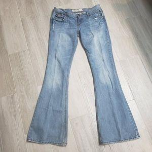 Hollister jeans bell bottoms??